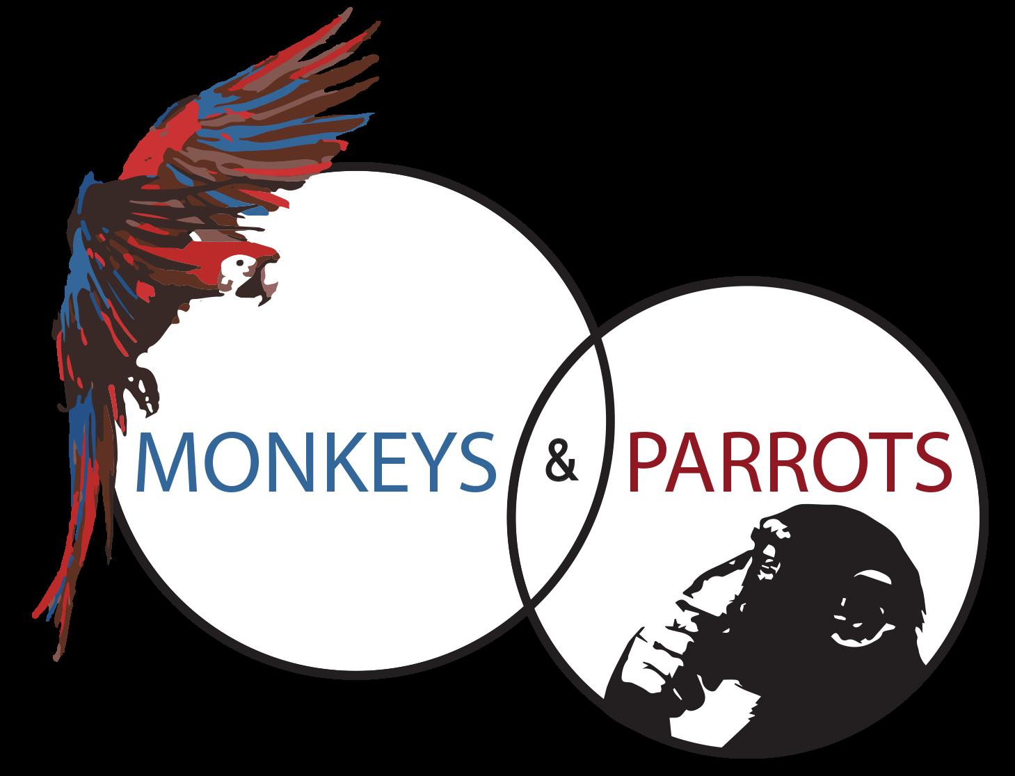 Monkeys & Parrots