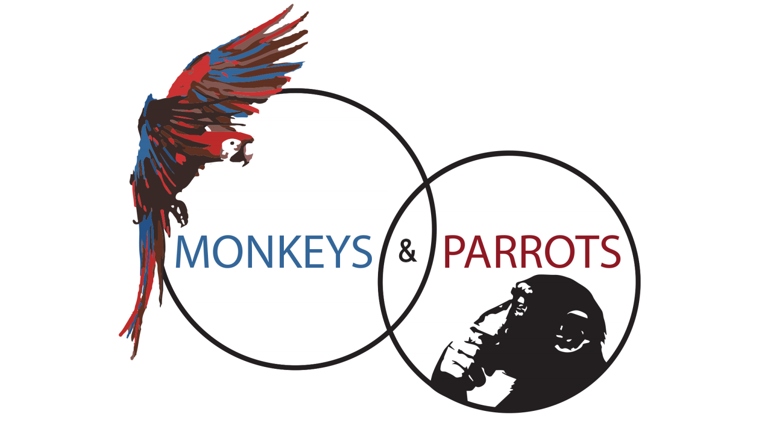 Monkeys and Parots