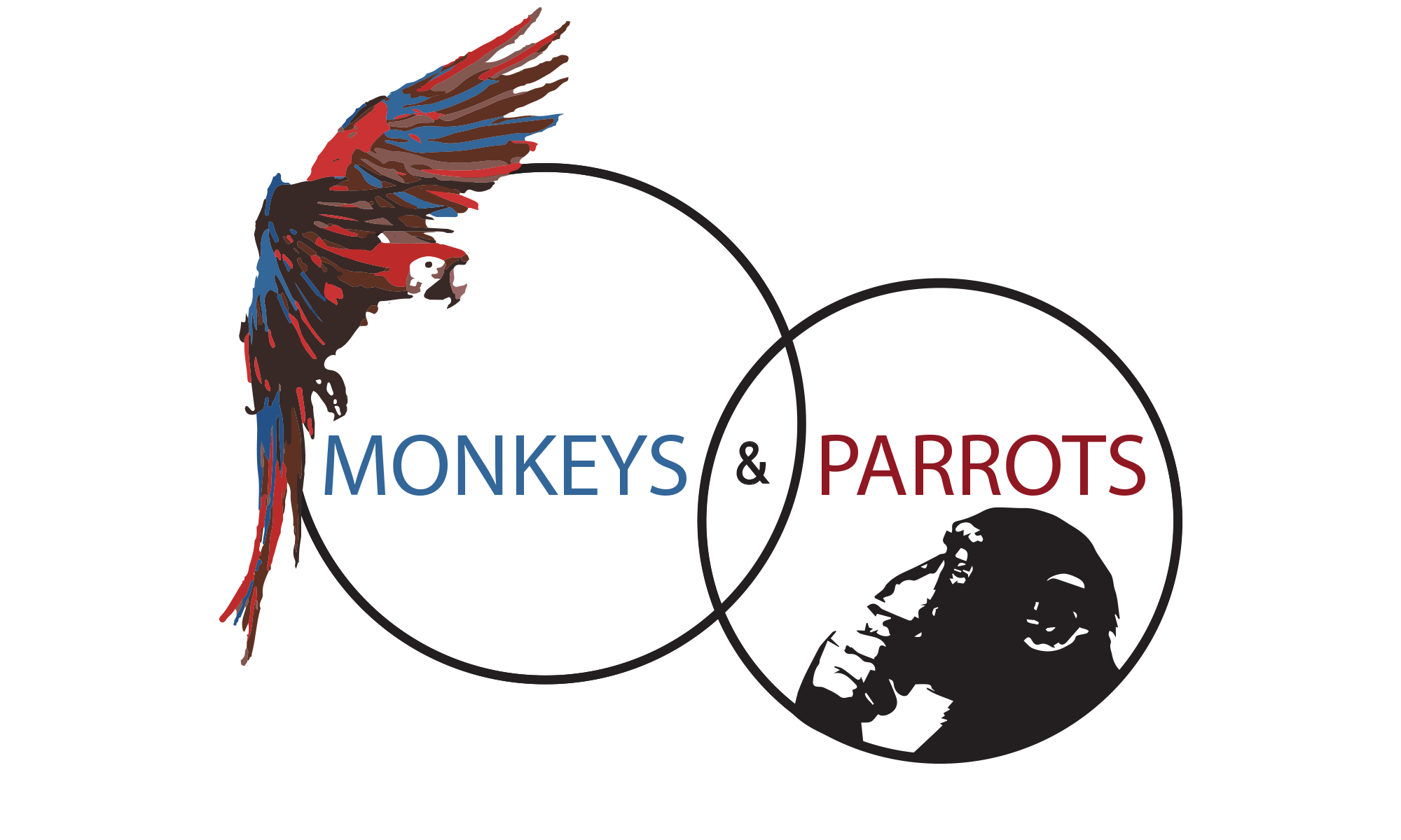 Monkeys and Parrots